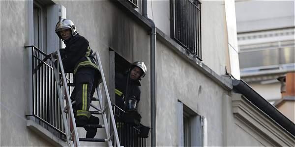 foto incendio en paris