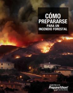 Cómo prepararse para un incendio forestal