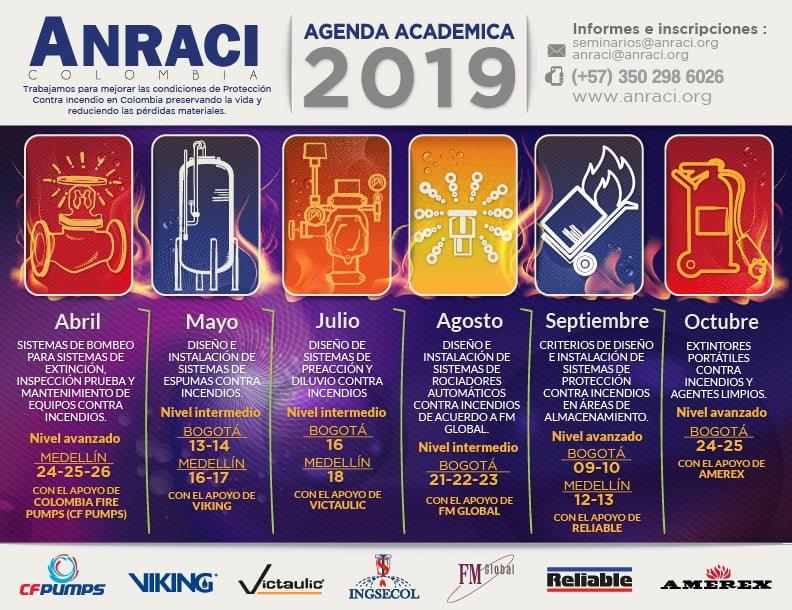 Agenda Académica 2019.