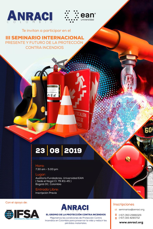 III Seminario Internacional Presente y Futuro de la Protección Contra Incendios